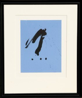 Robert Motherwell, Octavio Paz, Three Poems 16, Li