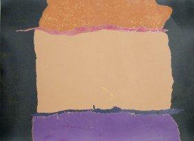 Theodoros Stamos, Abstract Silkscreen