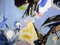 Ladislav Karousek, Romanticky Prostor, Oil Paintin
