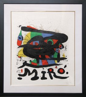 Joan Miro, Walker Art Center, Lithograph