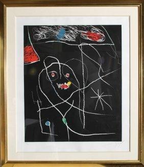 Joan Miro, El Pi De Formentor 5, Aquatint Etching