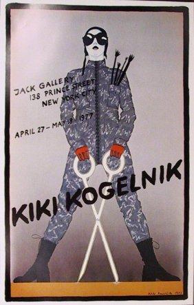 Kiki Kogelnik, Jack Gallery Poster, Poster