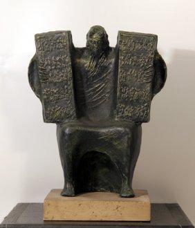 Giuseppe Macri, Moses & The Ten Commandments, Resin