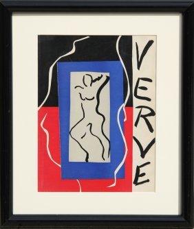 Henri Matisse, Verve, Lithograph