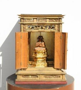 Japanese Travel Shrine (Late Edo To Early Meiji Peri