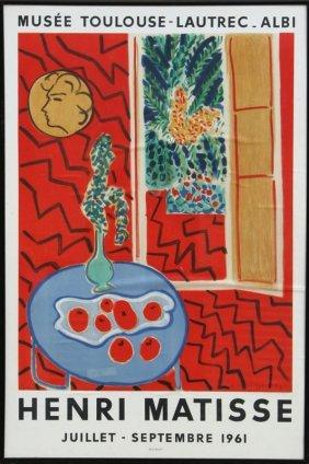 Henri Matisse, Musee Toulouse-Lautrec - Albi Exhibi