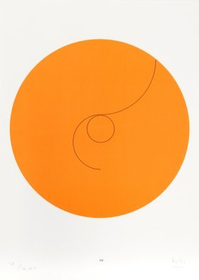 Max Bill, Constellations Iv, Lithograph
