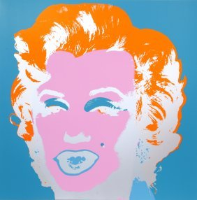 Andy Warhol, Marilyn Monroe 6, Serigraph By Sunday B.