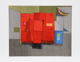 Remo Farruggio, Color Game, Lithograph