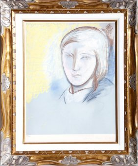 Pablo Picasso, Portrait Of Marie-therese Walter,