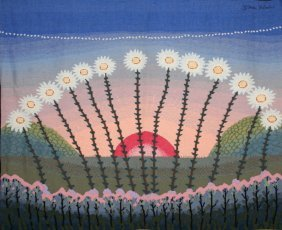 Ivan Rabuzin, Sunset, Tapestry