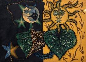 Jean Lurcat, Gemini From The Zodiac Series, Lithograph