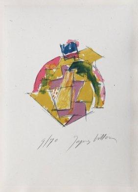 Jacques Villon, Untitled 4 From Poemes De Leur Temps,