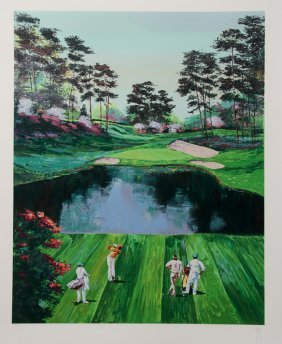 Mark King, Fore!, Serigraph