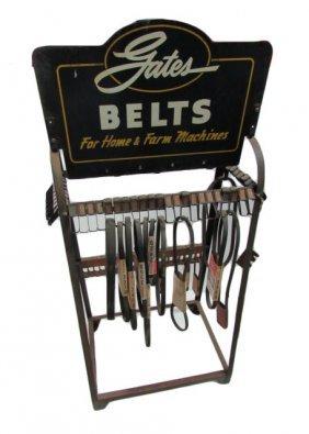 Gates Belts Display Rack
