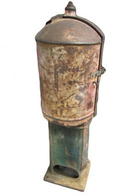 1914 Bowser Gasoline Pump