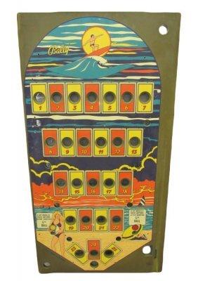 New Old Stock Bally Malibu Beach Bingo Pinball