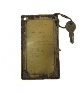 Original Key Chain From Wurlitzer 950 In Richmond,