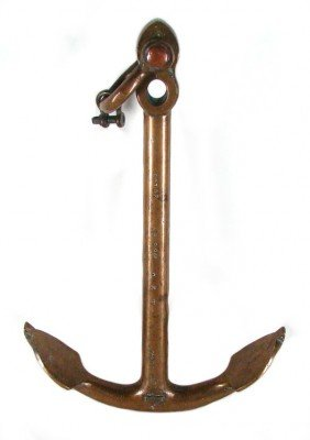 Decorative Arts: Antique Anchor