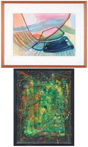 Gabi Ben Jano (20th Century) Israeli & Dorrell (two
