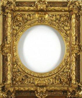 Decorative Arts: Ornate Gold-Leaf Frame