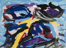 Karel Appel (1921-2006) Dutch