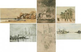Collection Of Unidentified Artists (six)