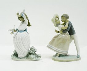 Lladro Porcelains (two)