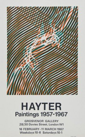 Stanley William Hayter (1901-1988) Hayter Painting