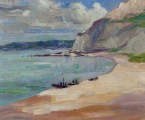 Henry William Phelan Gibb (1870-1948) Low Tide, Go