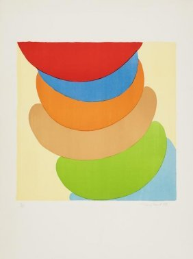 Sir Terry Frost (1915-2003) Red, Blue, Orange On Y