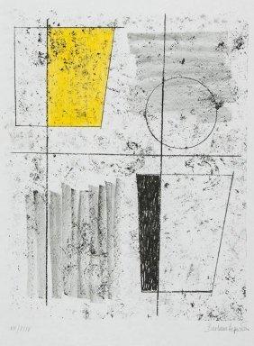 Barbara Hepworth (1903-1975) Composition Pl.7 (fro