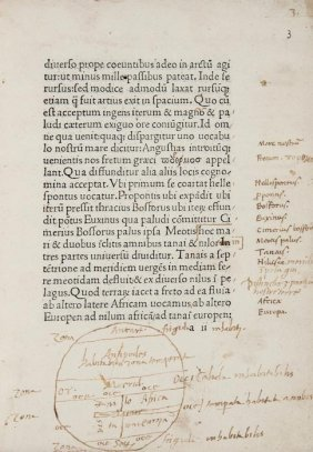 Mela (Pomponius) Cosmographia, Sive De Situ Orbis
