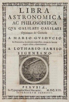 [Grassi (Orazio)] Libra Astronomica Ac Philosophic