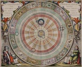 Cellarius (Andreas)  Planisph�rium Copernicanum