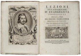 Torricelli (Evangelista) Lezioni Accademiche...