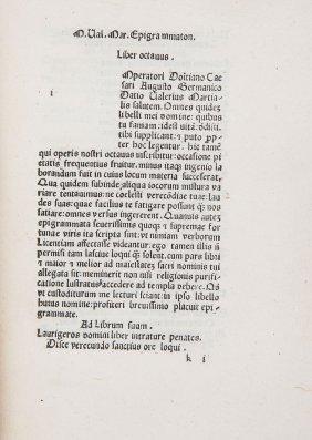 Martialis (marcus Valerius) - Epigramata,
