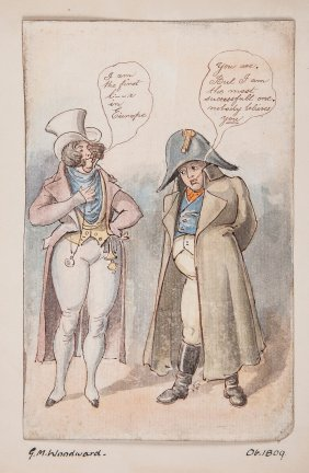 Edward Purcell (fl. 1810-1830) - Portrait Of Napoleon I