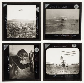 Early Aviation.- - A Collection Of Magic Lantern Slides