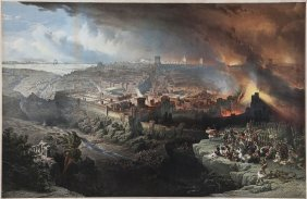 Roberts (david) After. - The Siege And Destruction Of