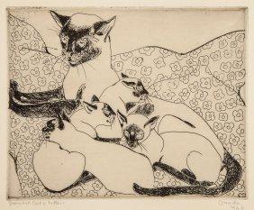 Pissarro (orovida Camille, 1893-1968) - Siamese Cat And