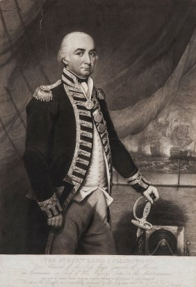 Battle Of Trafalgar.- Turner (charles) - The Rt.