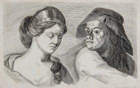Johann Daniel Herz (1693-1754) - Bust Portrait Of A