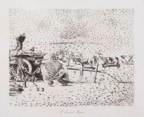 Millais (john Guille) - A Breath From The Veldt,