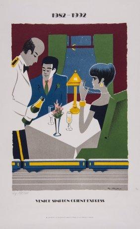 Fix-masseau, Pierre (1905-1994) - Venice Simplon