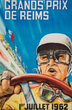 Beligond, Michel - Grand Prix De Reims, 1962