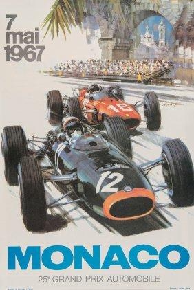 Turner, Michael (b. 1934) - 25e Grand Prix, Monaco,