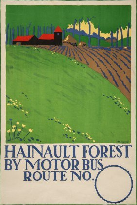 Kauffer, Edward Mcknight (1890-1954) - Hainault Forest