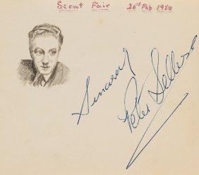 Autograph Album - Incl. Peter Sellers - Autograph Album