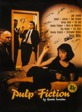 Pulp Fiction - Poster From The Movie 'pulp Fiction'